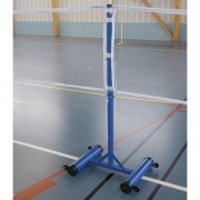 Poteau badminton central à lester