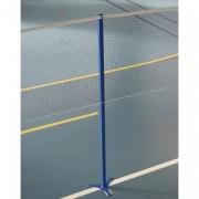 Poteau badminton intermédiaire scolaire - Hauteur : 1,55 m - 3 pieds