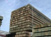 Poteau carré bois raboté - Dimensions (l x E) cm : 7 x 7 - Longueur : De 1.5 à 3 mètres