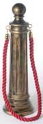 Poteau de balisage à corde hauteur 95 cm - Dimensions  (Ø  base x H) ) : 26 x 95 cm