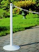 Poteau de balisage exterieur - Hauteur : 88 cm - Diamètre : 34 cm
