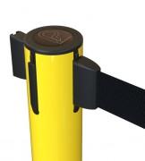 Poteau de guidage jaune - Longueur de 250, 320 ou 370 cm