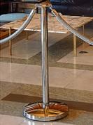 Poteau de guidage tête en métal d'alliage chromé - Tête en métal d'alliage chromé