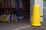Poteau de protection en polyéthylène - Hauteur (mm) : 1300