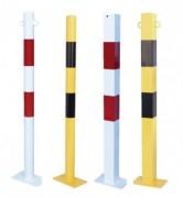 Poteau de protection fixation platine - Hauteur 1000 mm / Certifié par le TÜV