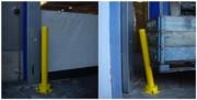 Poteau de protection industrielle - Protection ponctuelle avec absorbeur d'énergie