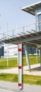 Poteau de ville en aluminium - Diamètre du poteau : 60 mm