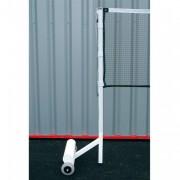 Poteaux badminton compétition 140 kg - Déport : 400 mm - Matière : Acier