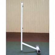 Poteaux badminton entrainement 50 kg - Déport : 600 mm - Matière : Acier