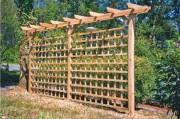 Poteaux bois 90 x 90 mm - En bois autoclave