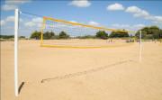Poteaux de beach volley entrainement