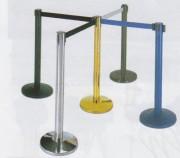 Poteaux de guidage - Poteaux de guidage pour cordon - Poteaux à sangle rétractable