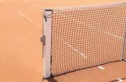 Poteaux de tennis carrés à sceller