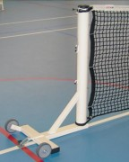 Poteaux de tennis mobiles - Ø 90 mm ou carré 80 x 80 mm - Tube acier galvanisé