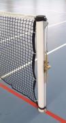 Poteaux de tennis ronds à sceller - Rond Ø : 90 mm - aluminium plastifié ou aluminium brut