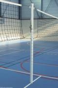 Poteaux de volley ball d'entraînement en aluminium - En acier ou aluminium - Classe C
