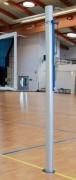 Poteaux de volley en aluminium pour compétition