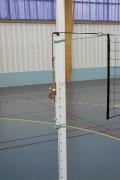 Poteaux volley ball de compétition en aluminium