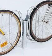 Potelet pour griffe à vélo - Extension : De 1 à 4 griffes fixes ou orientables