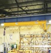 Potence d'atelier - Capacité de levage : 10000 kg - Sytème tubulaire et modulable