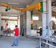 Potence de levage à bras articulé - Capacité de levage : De 125 kg à 1000 kg