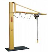 Potence de levage à rotation manuelle - Capacité de levage : jusqu'à 2000 kg
