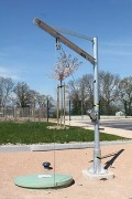 Potence de levage acier galvanisé - CMU : de 75 à 500 kg