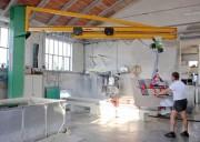 Potence de levage bras téléscopique - Capacité de levage: De 250 kg à 1000 kg
