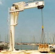 Potence de levage de port - Capacité de levage : 4000 Kg