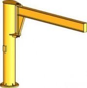 Potence de levage pour utilisation intérieure - Capacité de levage : 2000 Kg