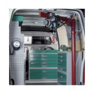 Potence de levage pour véhicule utilitaire - Capacité de charge : De 250 kg à 500 kg