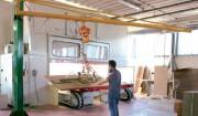 Potence de levage triangulée - Capacité de levage : DE 125 kg à 1000 kg