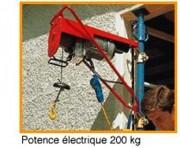 Potence électrique 200kg - Réf DMI200