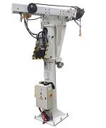 Potence fixe à bras télescopique - Capcité : 500 Kg - Treuil hydraulique