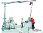 Potence mobilegalvanisée - Capacité : de 400 à 500 Kg - 3 modèles