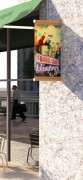 Potence murale pour extérieur - Longueur : 450 - 600 mm