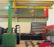 Potence triangulée mobile - Capacité (Kg) : 500 kg