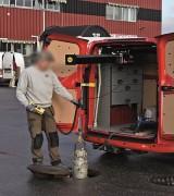 Potence véhicule utilitaire - Fixée à l'intérieur du véhicule
