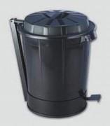 Poubelle avec pédale - 50 litres