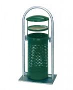 Poubelle cendrier à sable - Capacité (L) : 60