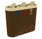 Poubelle multi compartiments - 2, 3, 4 ou plus de compartiments