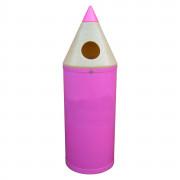 Poubelle petite enfance - Plastique recyclable en polyéthylène  -  Respectueux de l'environnement