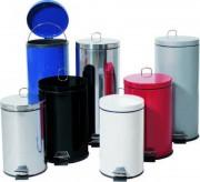 Poubelles de sécurité rondes - Capacité 12 , 20 et 30 litres