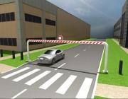 Poutre fixe limitation hauteur - Protection d'accès parking ou autre
