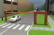 Poutre motorisée coulissante - Réglementer les accès de façon automatique à moindre coût - 3 modèles -