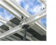 Poutrelles en aluminium - Longueur : 2.50 m et 3.75 m