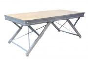 Praticable de scène aluminium - 7 hauteurs de réglage : de 200 à 1000 mm - Structure aluminium