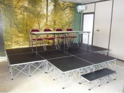 Praticables de scène modulaire - Hauteurs disponibles : 20 / 30 / 40 / 60 / 80 Cm