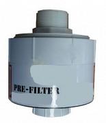 Préfiltre pour cartouche de filtration hydrocarbure - Dimensions (L x Ø) : 150 x 127 mm