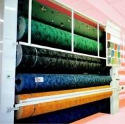 Présentoir à moquettes/tapis